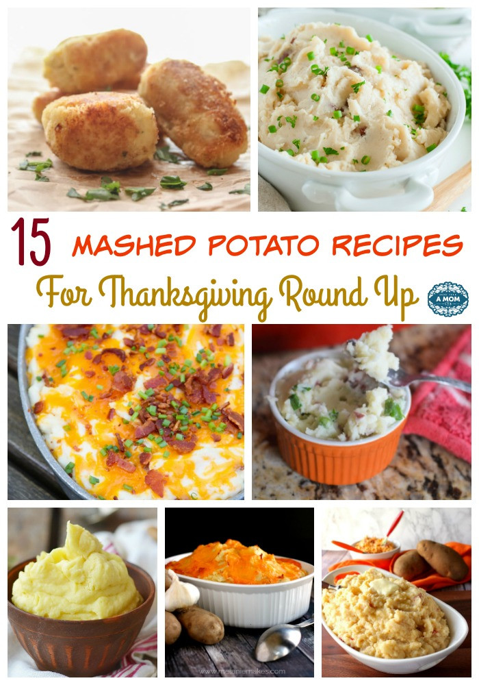 Thanksgiving Mashed Potatoes  15 Mashed Potato Recipes For Thanksgiving Round Up