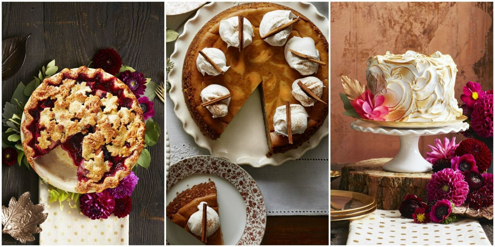 Thanksgiving Pies And Cakes  65 Absolutely Incredible Thanksgiving Desserts