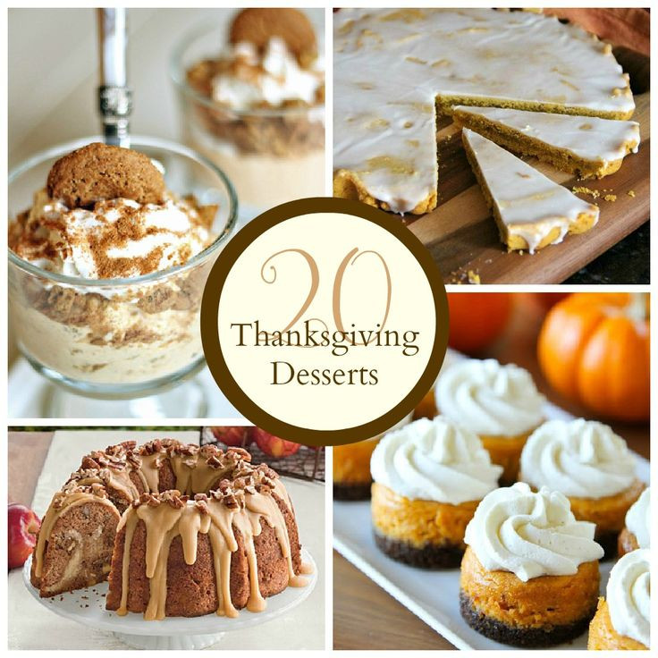 Thanksgiving Pies And Cakes  The Crafted Sparrow Thanksgiving Desserts