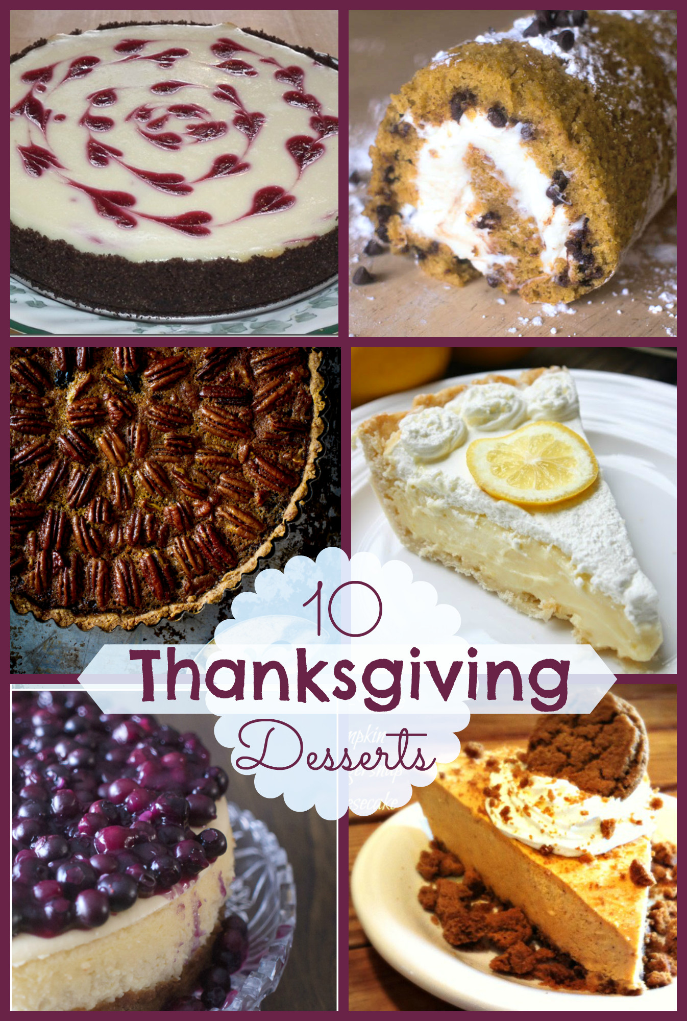 Thanksgiving Pies And Cakes  10 Fabulous Thanksgiving Desserts