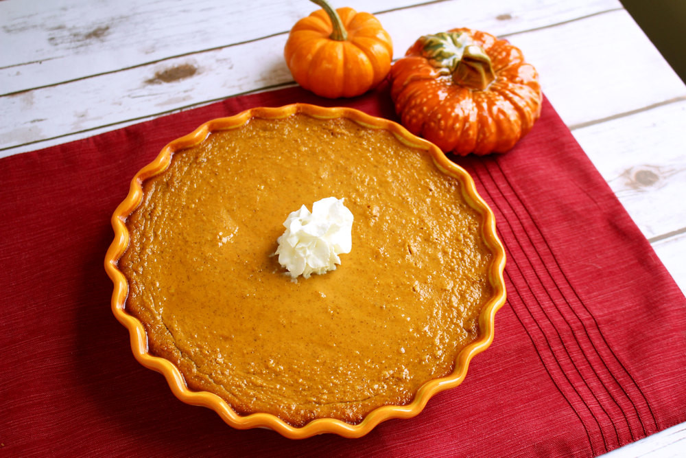 Thanksgiving Pumpkin Pie  22 Easy Thanksgiving Recipes A Traditional Thanksgiving