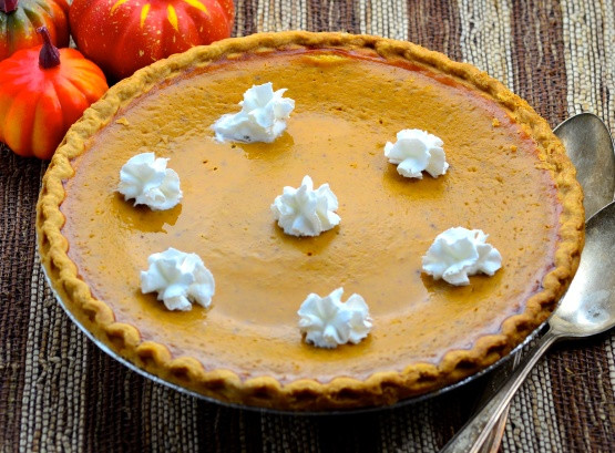 Thanksgiving Pumpkin Pie  Thanksgiving Pumpkin Pie Uses Fresh Pumpkin Recipe