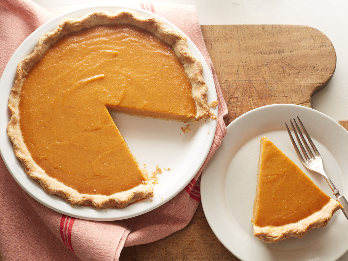 Thanksgiving Pumpkin Pie  December 25th is National Pumpkin Pie Day