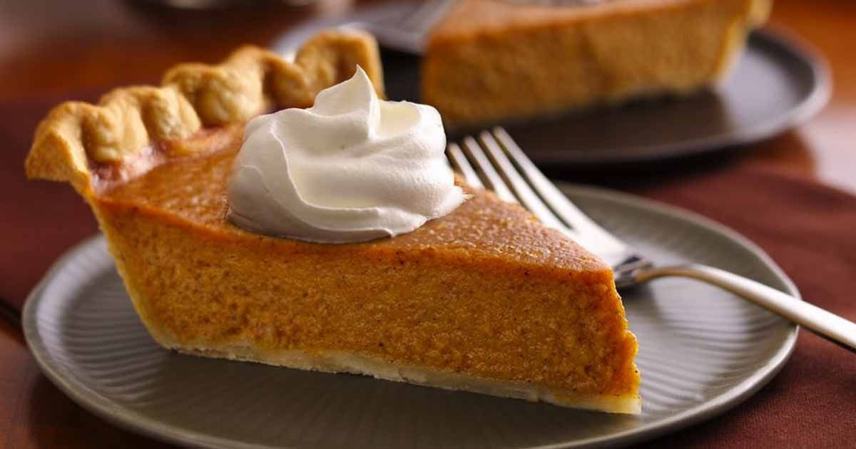 Thanksgiving Pumpkin Pie Recipe  FRIENDS Thanksgiving Pumpkin Pie Recipe