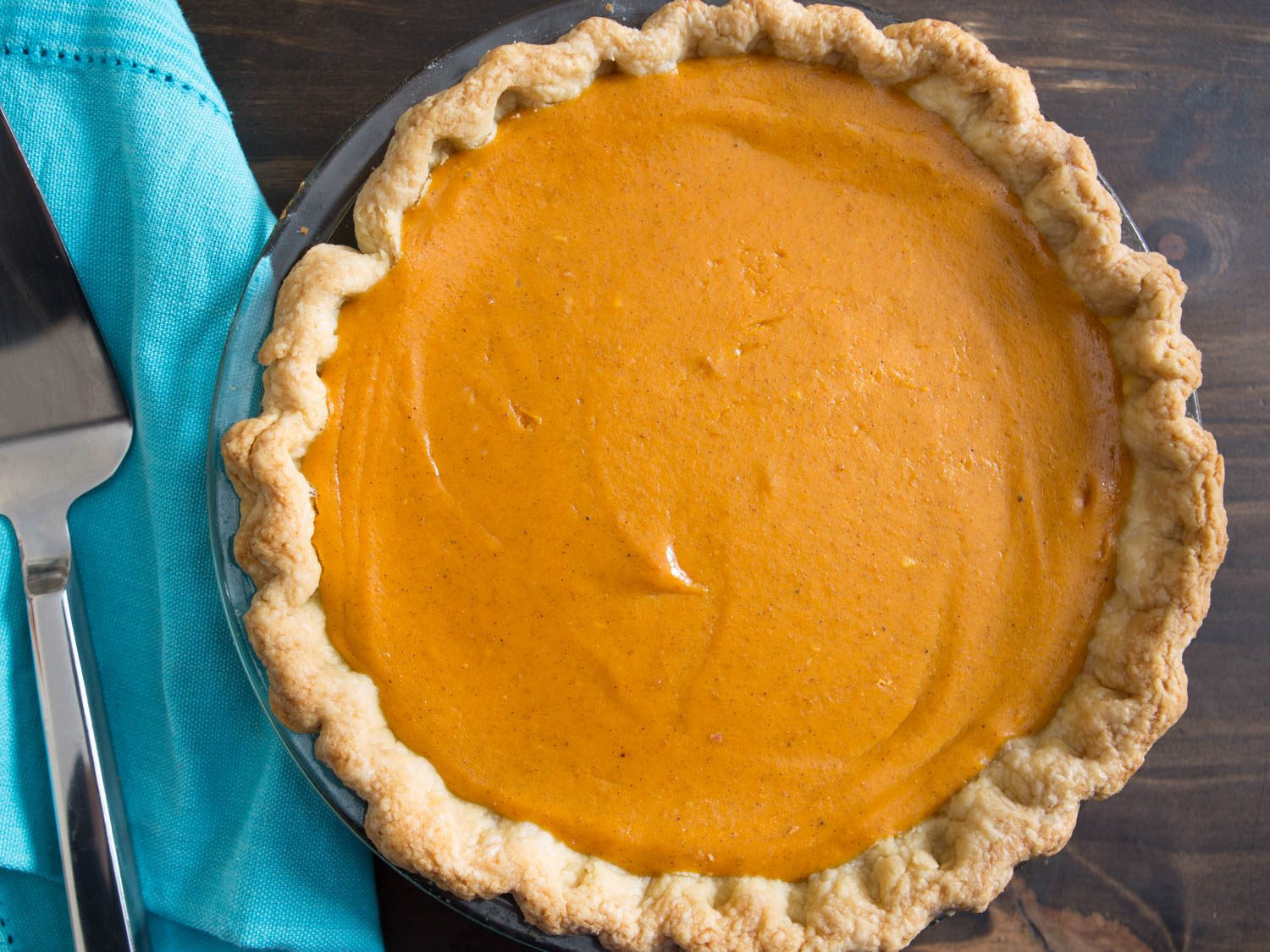 Thanksgiving Pumpkin Pie Recipe  Extra Smooth Pumpkin Pie Recipe