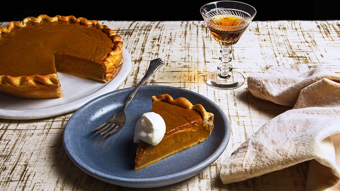 Thanksgiving Pumpkin Pie  Recipe Classic Pumpkin Pie