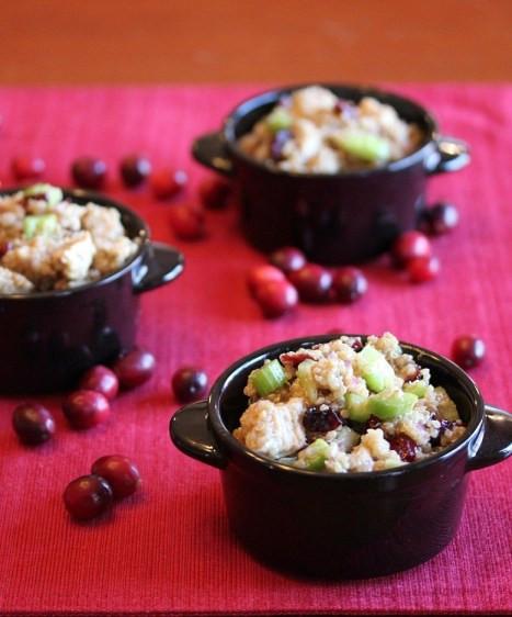 Thanksgiving Quinoa Salad  Cranberry Turkey Quinoa Salad Lisa s Dinnertime Dish for