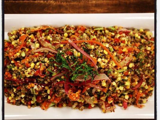 Thanksgiving Quinoa Salad  Thanksgiving recipe Quinoa and Lentil Salad