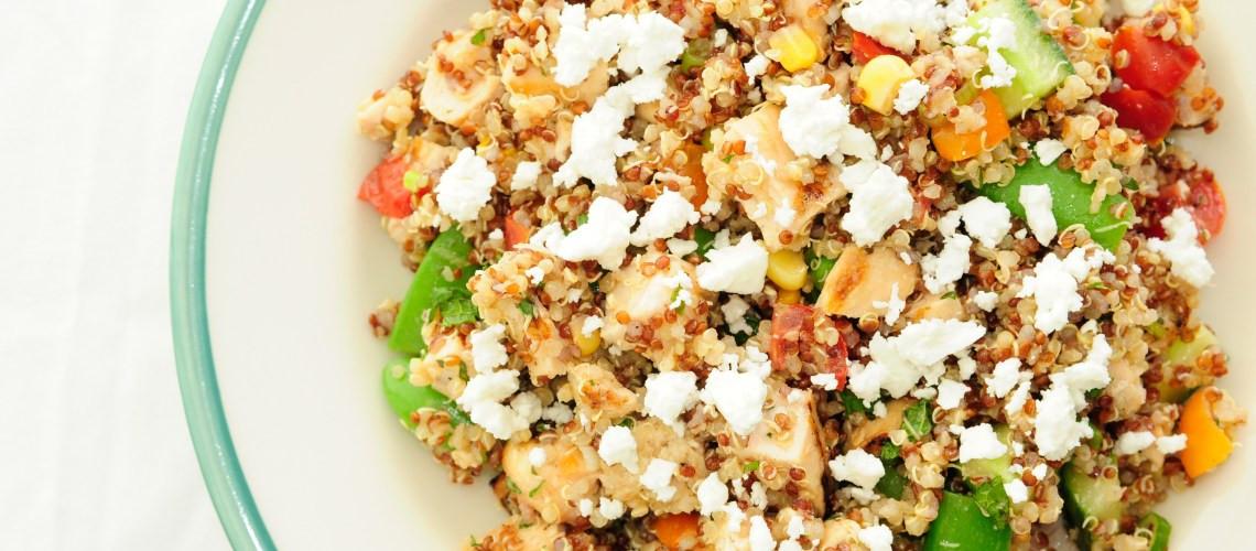 Thanksgiving Quinoa Salad  Smoked Turkey Quinoa Salad Food So Good Mall