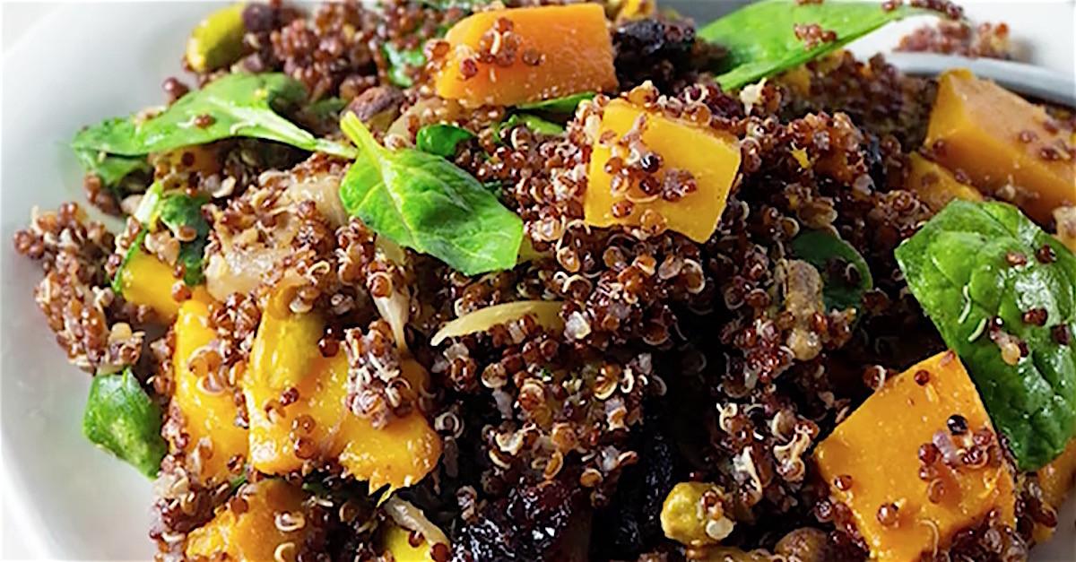 Thanksgiving Quinoa Salad  Autumn Quinoa Salad Puts A Deliciously Healthy Spin A
