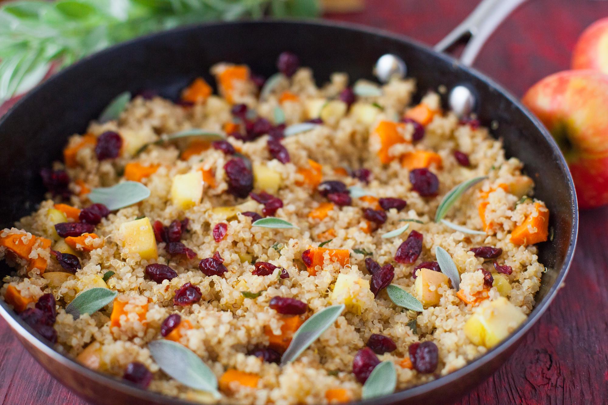 Thanksgiving Quinoa Salad  23 Best Thanksgiving Salad Recipes Genius Kitchen