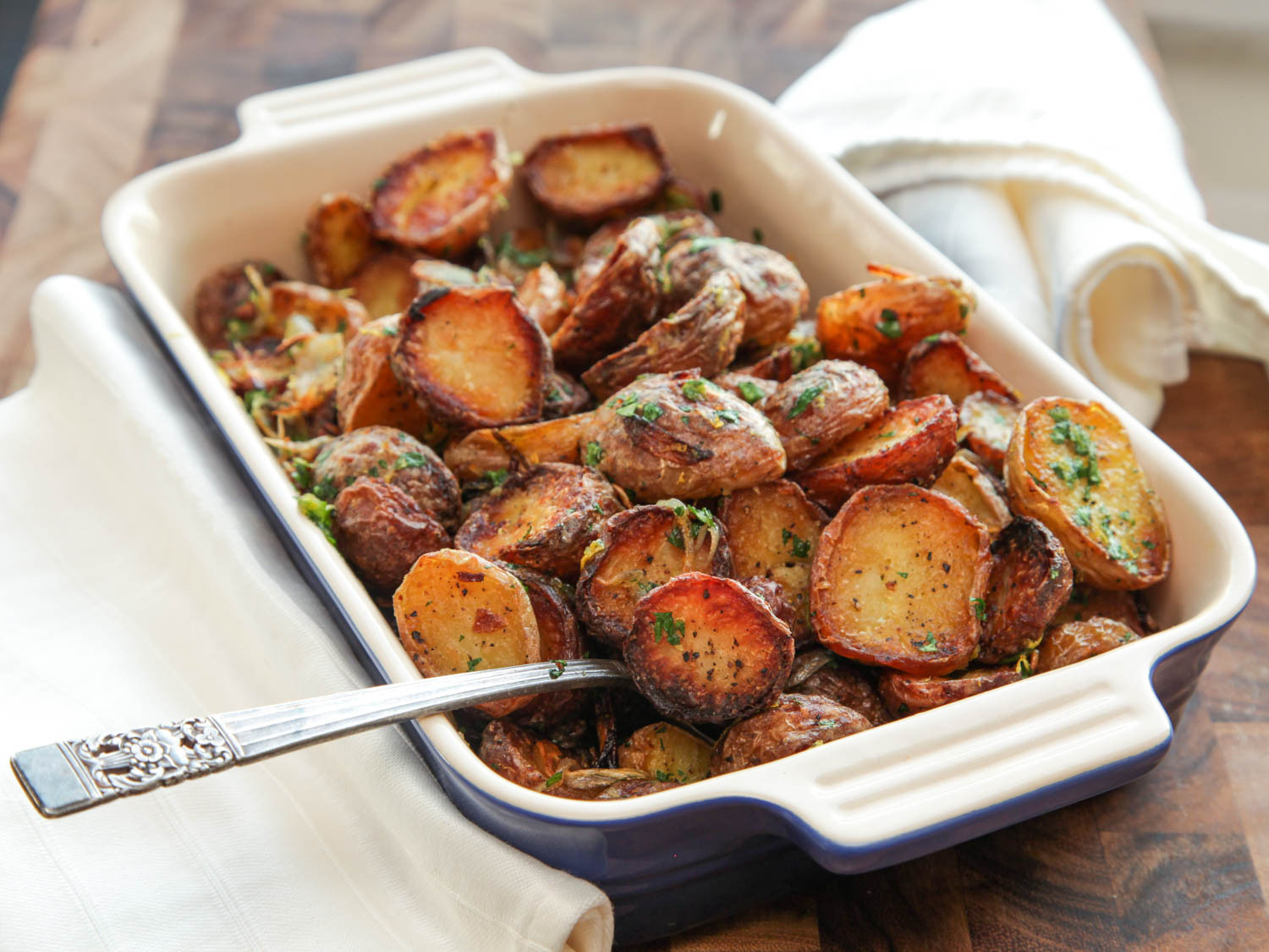 Thanksgiving Roasted Potatoes  14 Creamy Crispy and Buttery Potato Recipes for