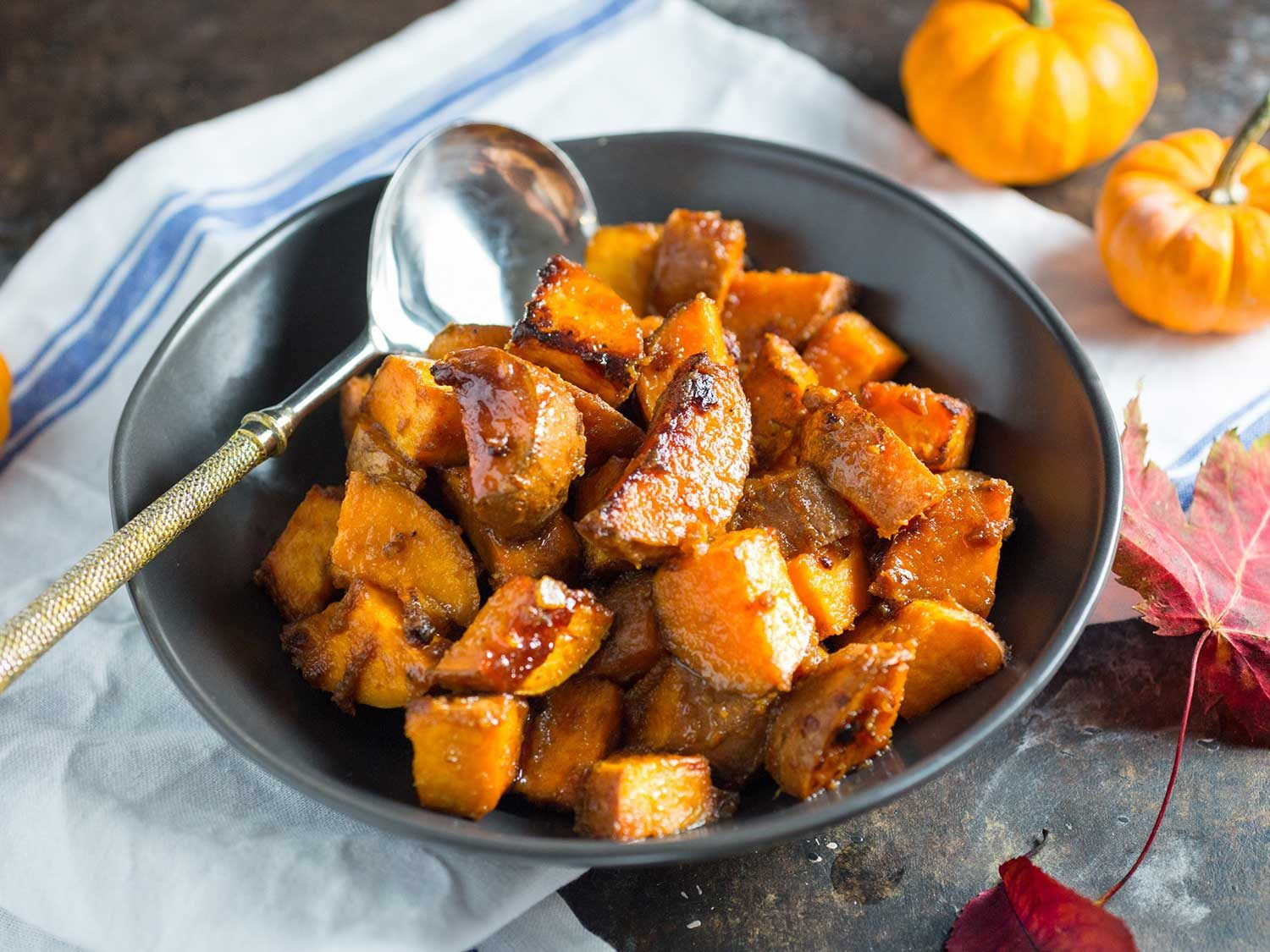 Thanksgiving Roasted Potatoes  14 Sweet Potato Recipes for Thanksgiving That Are Just