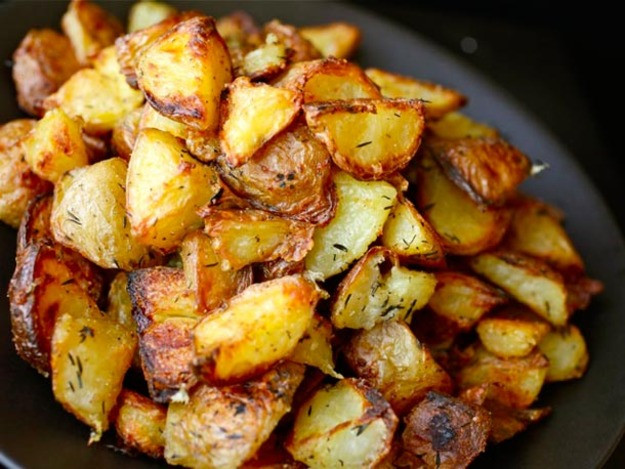Thanksgiving Roasted Potatoes  13 Crispy and Creamy Potato Recipes for Your Thanksgiving