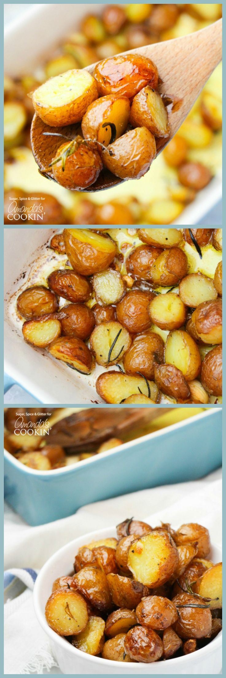 Thanksgiving Roasted Potatoes  Best 25 Side dish recipes ideas on Pinterest