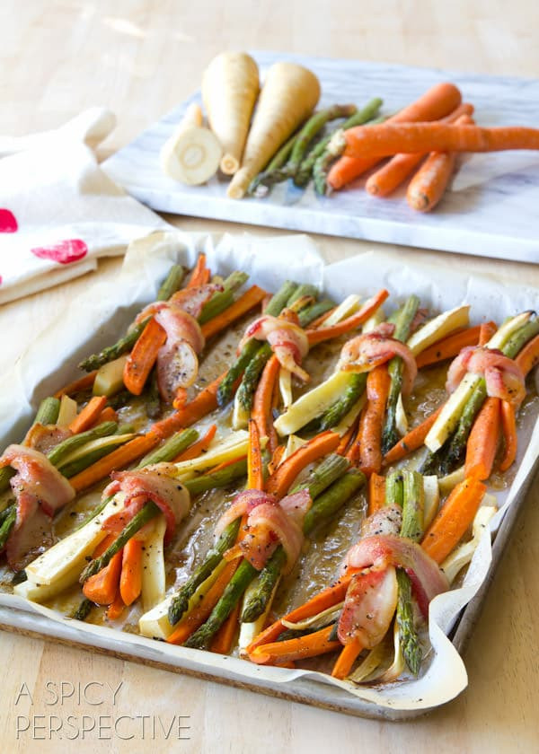 Thanksgiving Roasted Vegetables  Oven Roasted Ve ables with Maple Glaze A Spicy Perspective