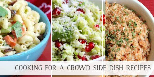 Thanksgiving Side Dishes For A Crowd  40 Delicious Cooking For A Crowd Recipes Page 3