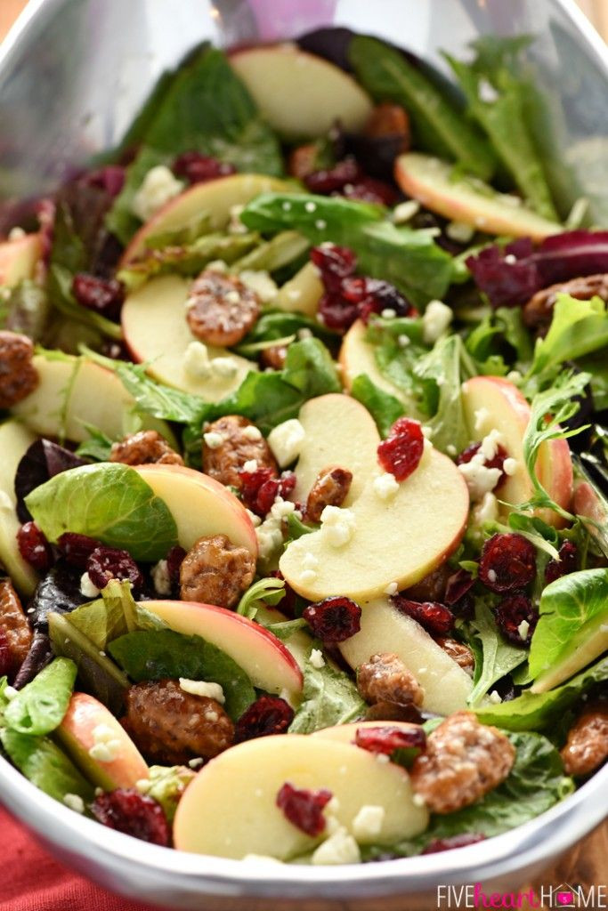 Thanksgiving Side Salads  355 best images about side dishes on Pinterest