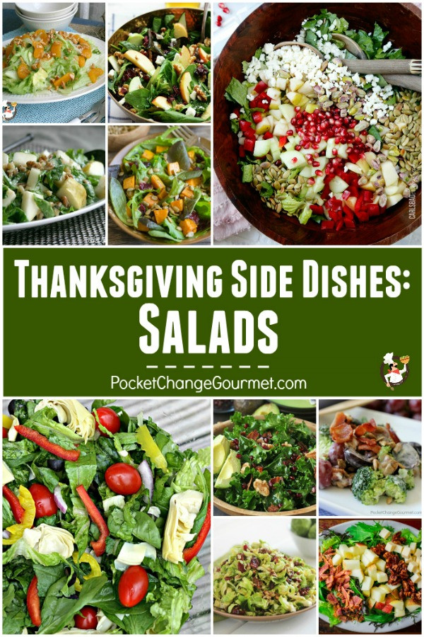 Thanksgiving Side Salads  Thanksgiving Ve able Recipes Recipe