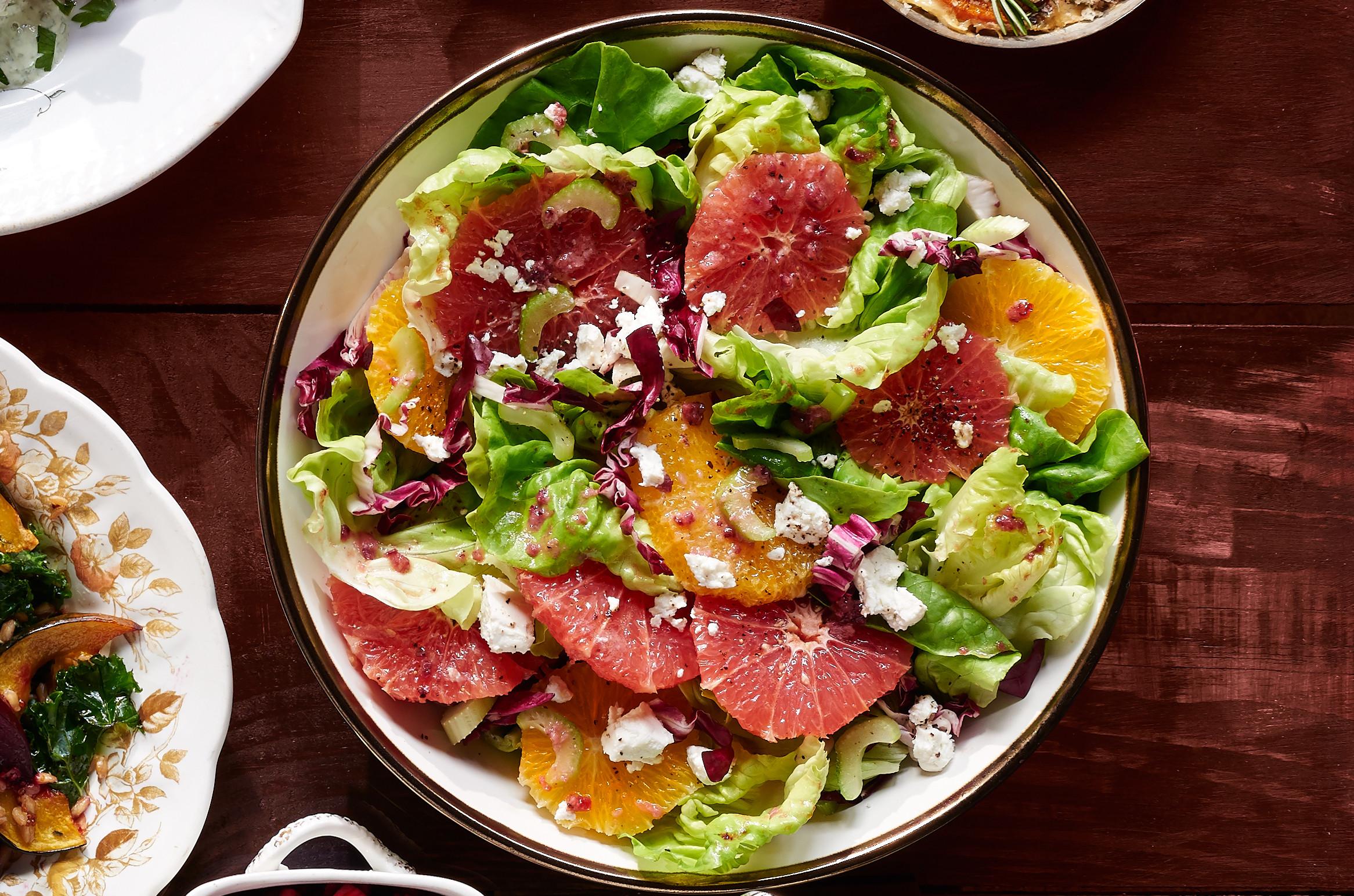 Thanksgiving Side Salads  Bibb and Citrus Salad