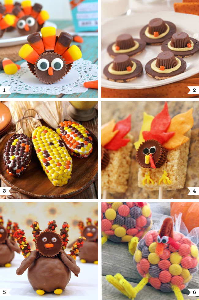 Thanksgiving Snacks Recipes  Cute Reese s recipes for Thanksgiving
