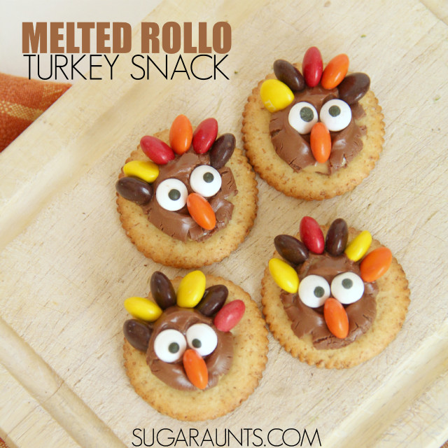 Thanksgiving Snacks Recipes  Super Cute Turkey Treats