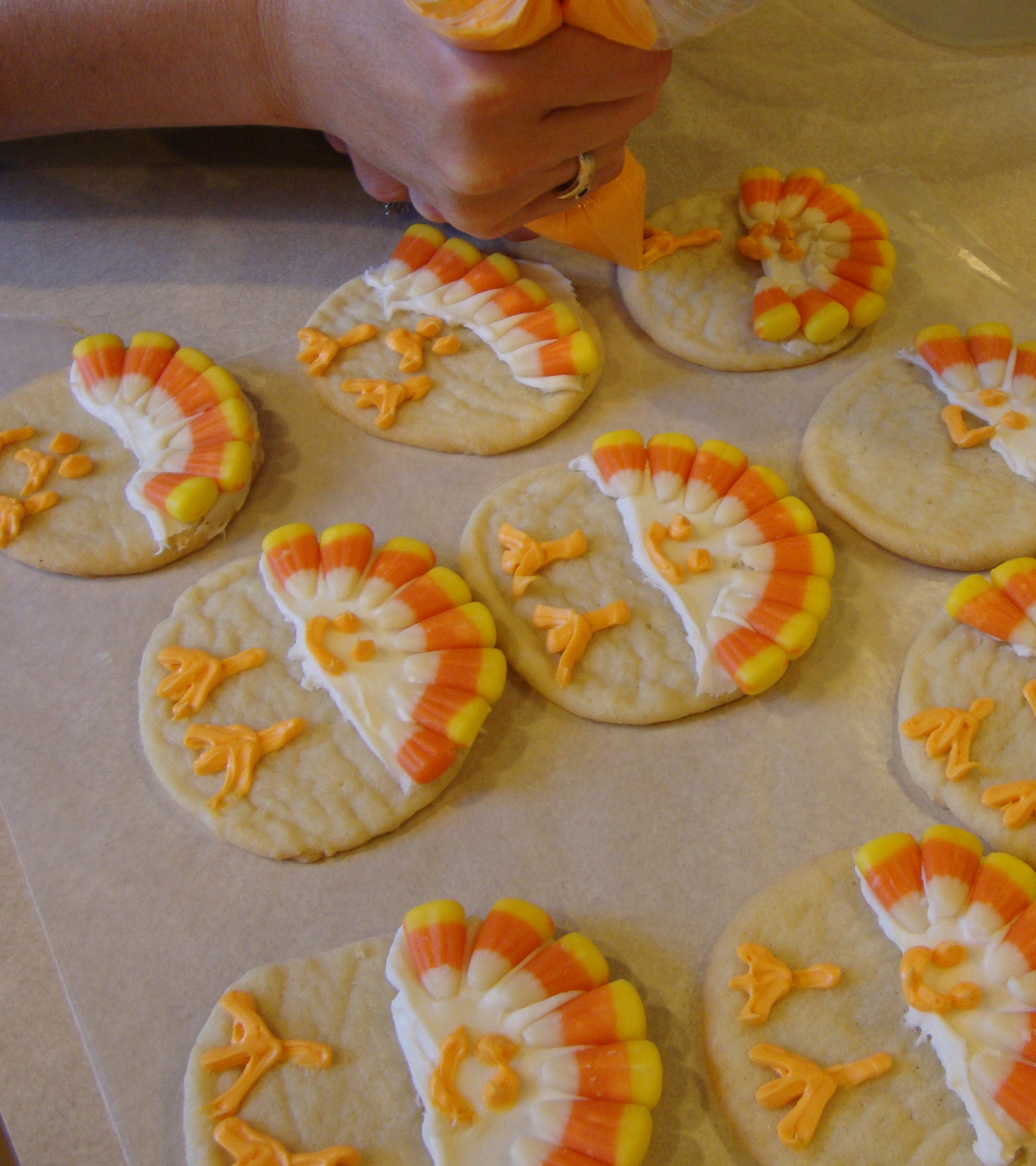 Thanksgiving Sugar Cookies  Simple and Fun Turkey Cookies Women Living Well
