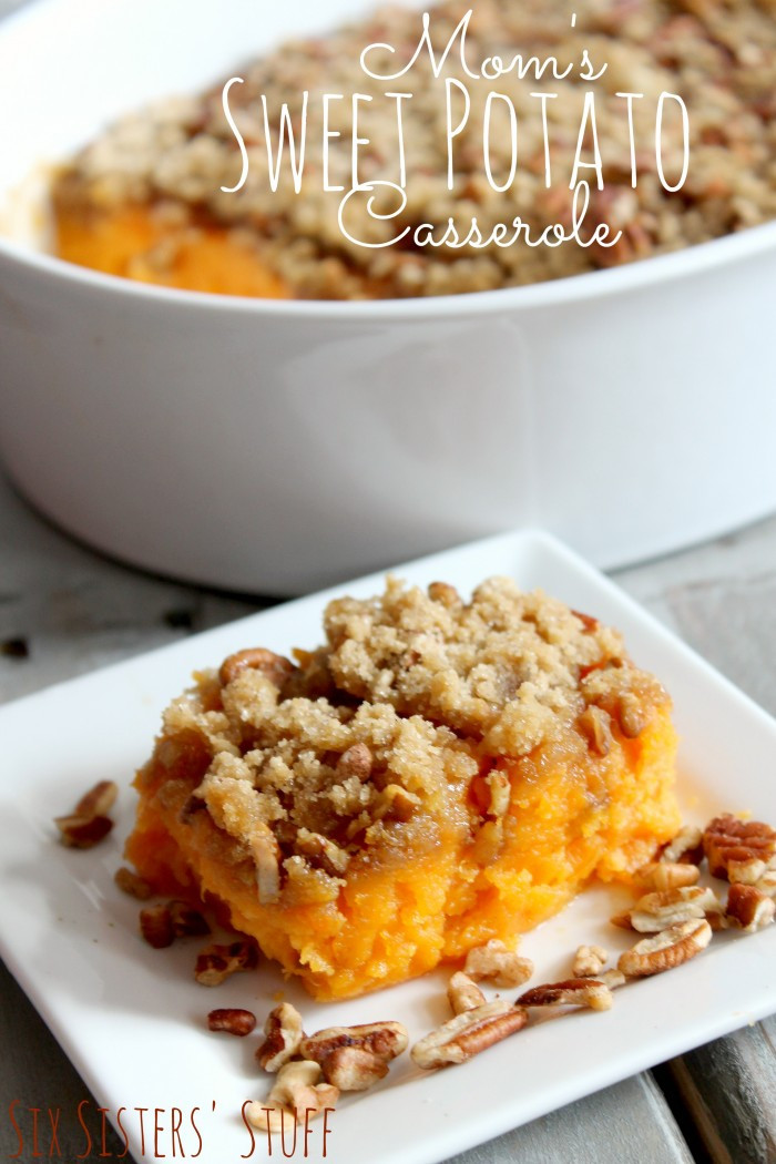 Thanksgiving Sweet Potatoes  Thanksgiving Side Dishes The Idea Room