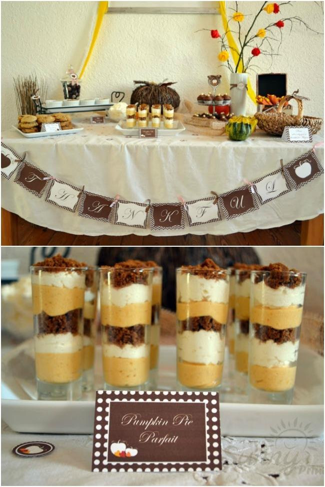 Thanksgiving Themed Desserts  Thanksgiving Dessert Table Ideas Spaceships and Laser Beams