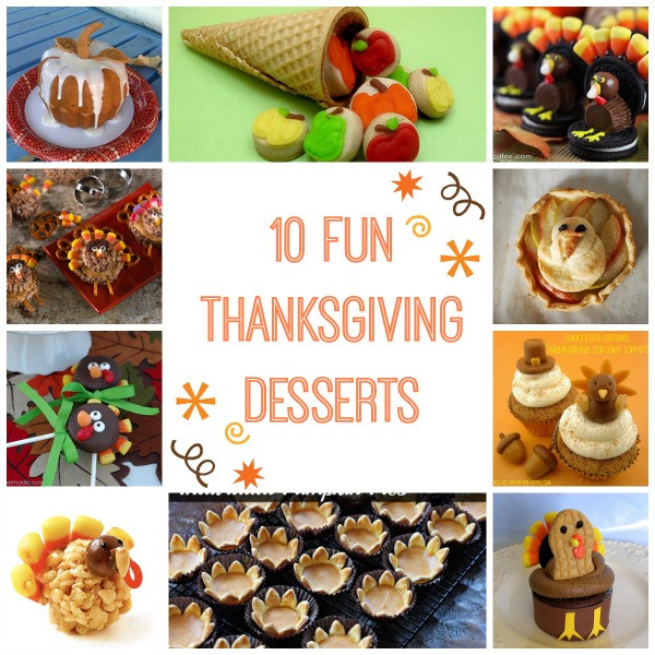 Thanksgiving Themed Desserts  10 Fun Turkey and Thanksgiving Themed Desserts Modern