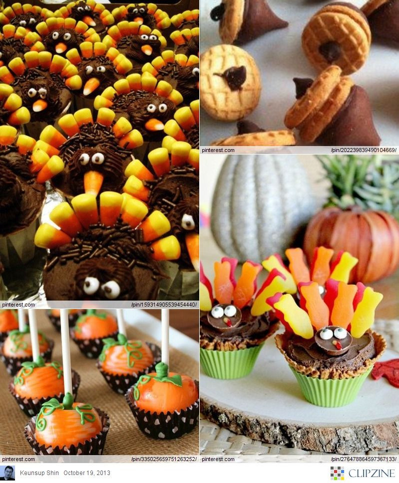 Thanksgiving Themed Desserts  The 25 best Thanksgiving desserts ideas on Pinterest