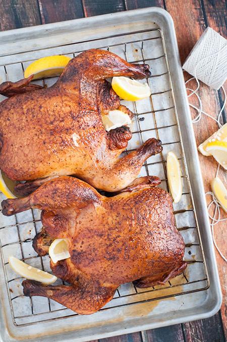 Thanksgiving Turkey Alternatives  Smoked Chicken the Alternative to Thanksgiving Turkey