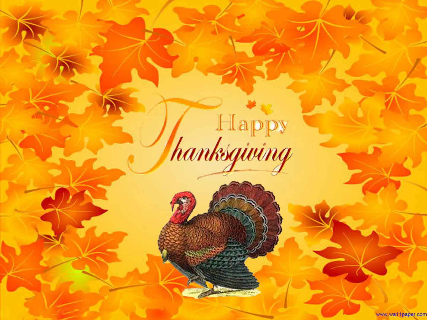 Thanksgiving Turkey Background  Happy Thanksgiving Wallpapers Free Wallpaper Cave