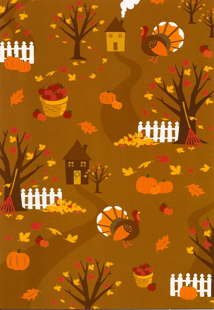 Thanksgiving Turkey Background  Thanksgiving card Fabulous Fall