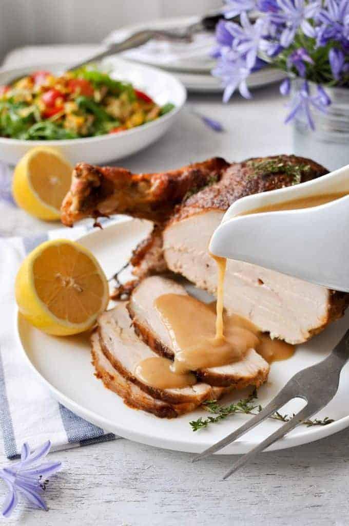 Thanksgiving Turkey Breast Slow Cooker  Juicy Slow Cooker Turkey Breast