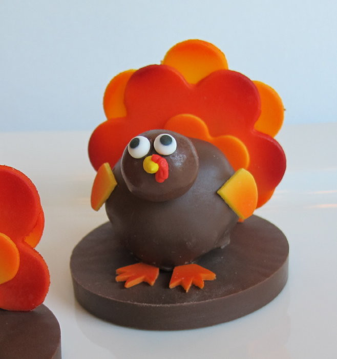 Thanksgiving Turkey Cake  How to Make Turkey Cake Balls CakeCentral