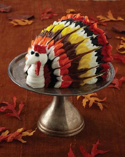 Thanksgiving Turkey Cake  Cake Boss Halloween Demo and Giveaway