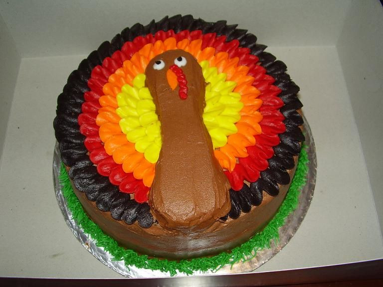 Thanksgiving Turkey Cake  Special Cakes Acadian Bakery