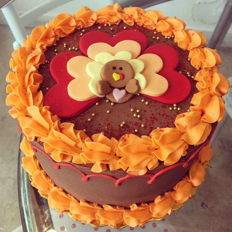 Thanksgiving Turkey Cake  How to Celebrate a Vegan Thanksgiving 2016 in Miami