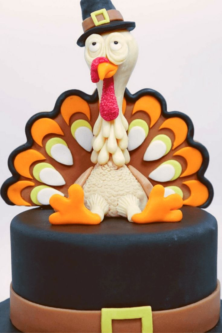 Thanksgiving Turkey Cake  Best 25 Turkey Cake ideas on Pinterest