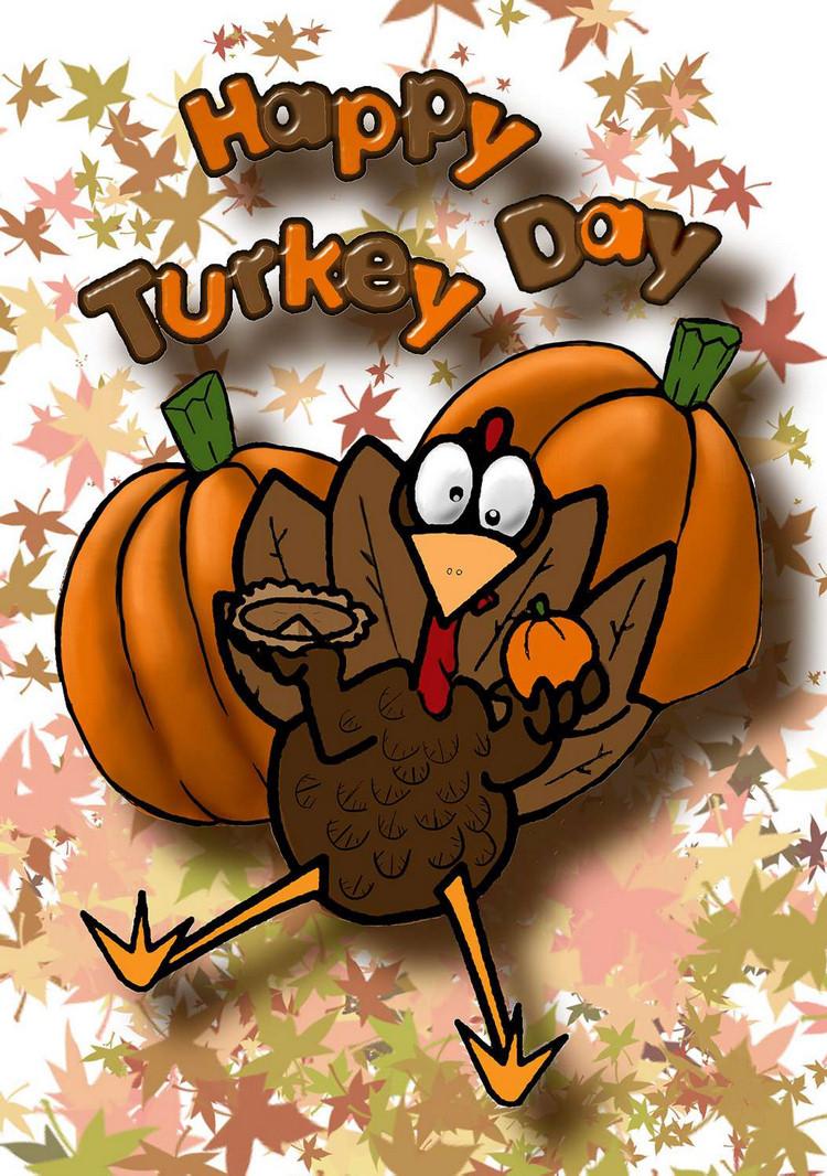 Thanksgiving Turkey Cartoon Images  Cartoon Turkey Pitures