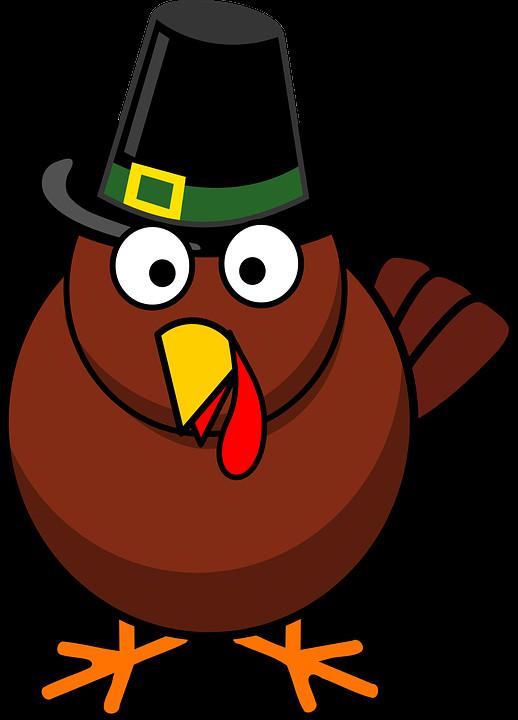 Thanksgiving Turkey Cartoon Images  Free vector graphic Cartoon Fall Thanksgiving Turkey