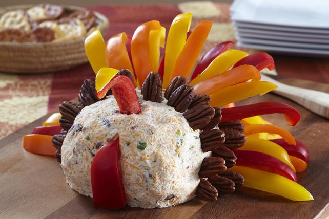 Thanksgiving Turkey Cheese Ball  Turkey Cheese Ball Kraft Recipes