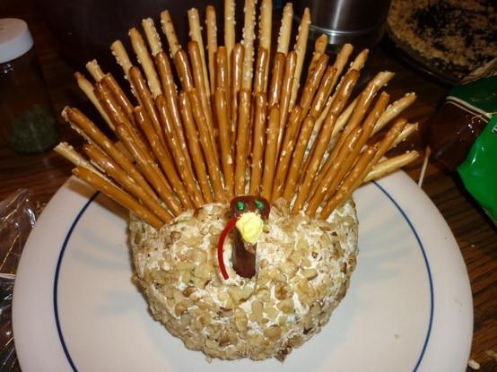 Thanksgiving Turkey Cheese Ball  Spec s Galveston Turkey Cheese Ball