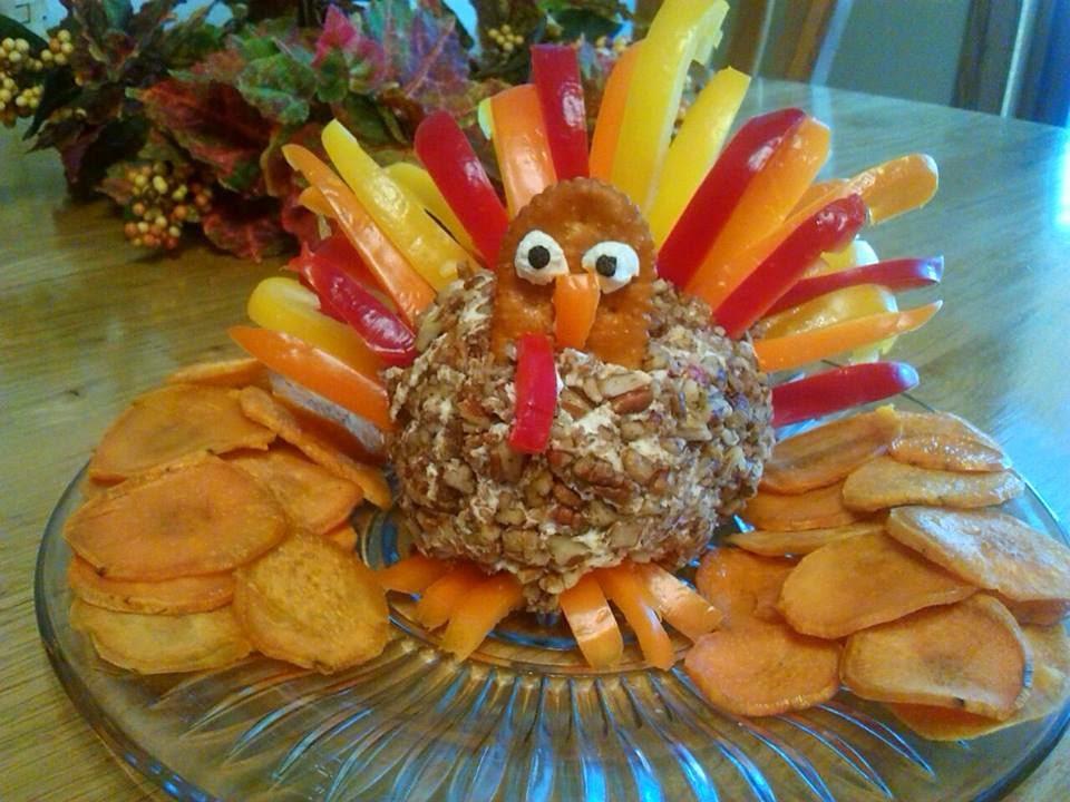 Thanksgiving Turkey Cheese Ball  The Little Things in Life Thanksgiving Turkey Cheese Ball