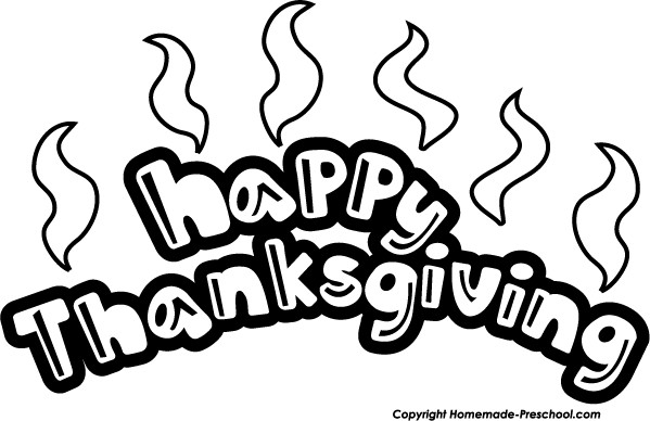 Thanksgiving Turkey Clipart Black And White  Happy thanksgiving thanksgiving illustrations and clip art