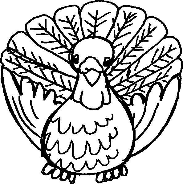 Thanksgiving Turkey Clipart Black And White  Turkey Black And White Clip Art at Clker vector clip