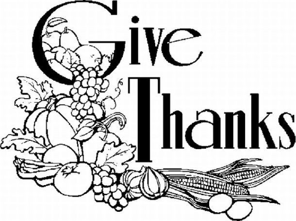 Thanksgiving Turkey Clipart Black And White  religious clip art thanksgiving Google Search