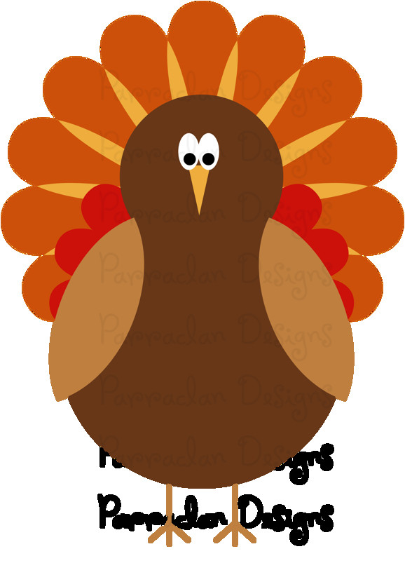 Thanksgiving Turkey Clipart  Thanksgiving Clip Art Preview