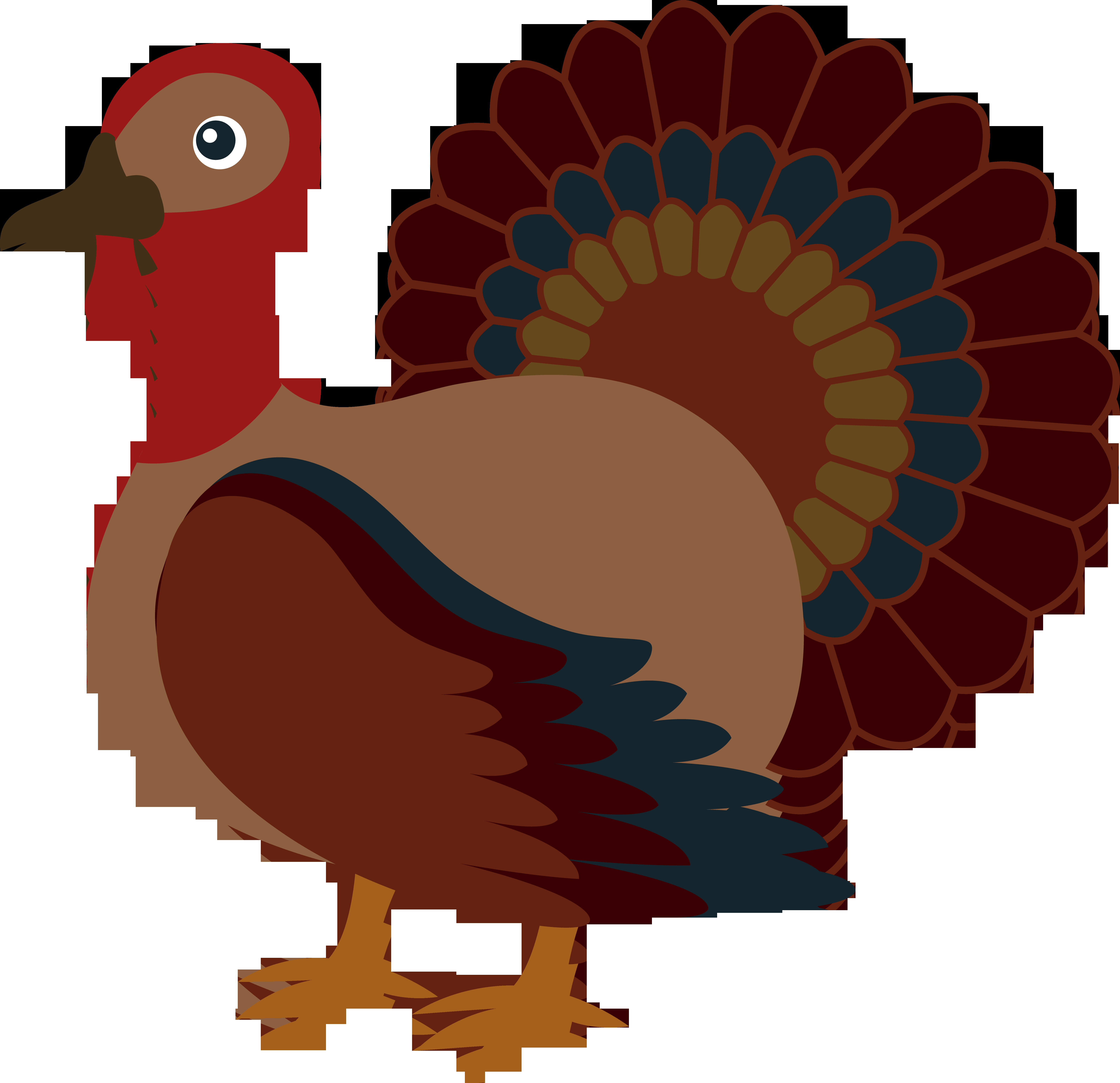 Thanksgiving Turkey Clipart  Free Turkey Clip Art Clipartix